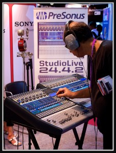 Presonus- ProMusicals - Broadcast India 2012