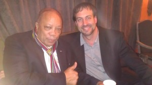 None other than Quincy Jones himself!