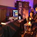 Byron demoing Studio One at the NARAS show.