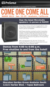 WorxAudio Demo FLyer
