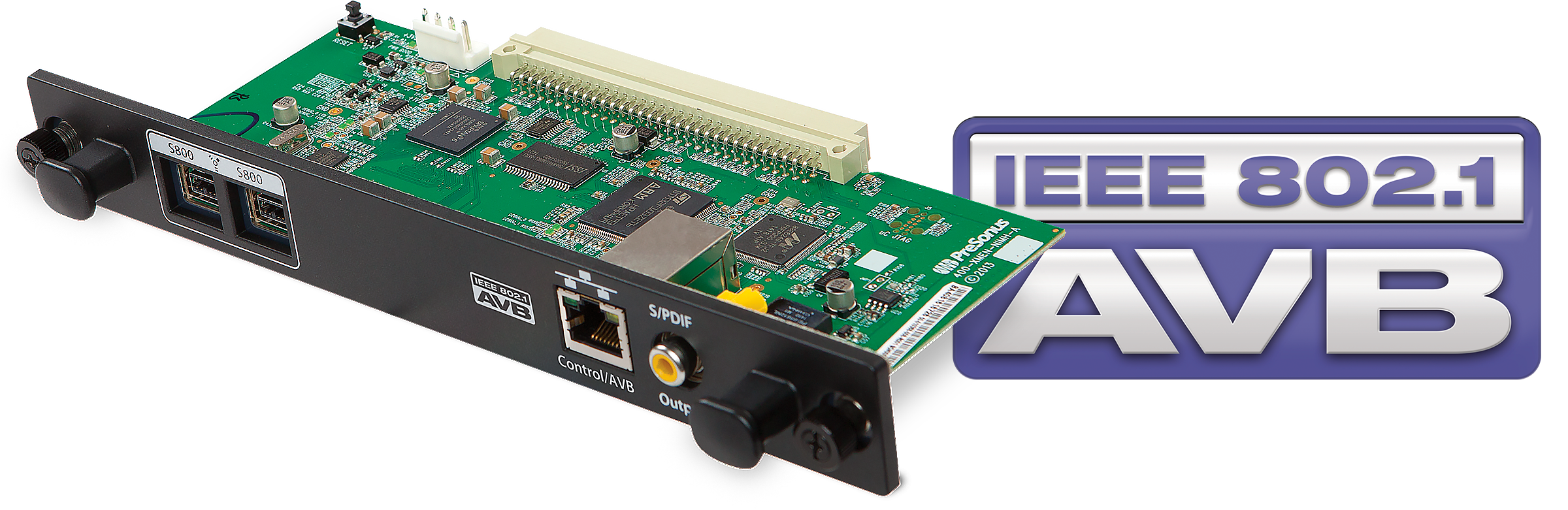 ships avb networking for studiolive active integration presonusreg is now shipping its sl avb mix audio video bridging avb audio networking option card for studiolive ai series console and studiolive rm series