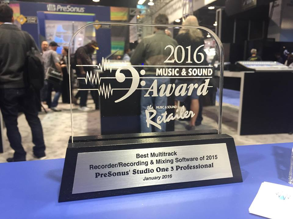 Studio One Award