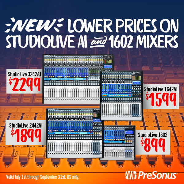 StudioLive Mixers Lowest Price