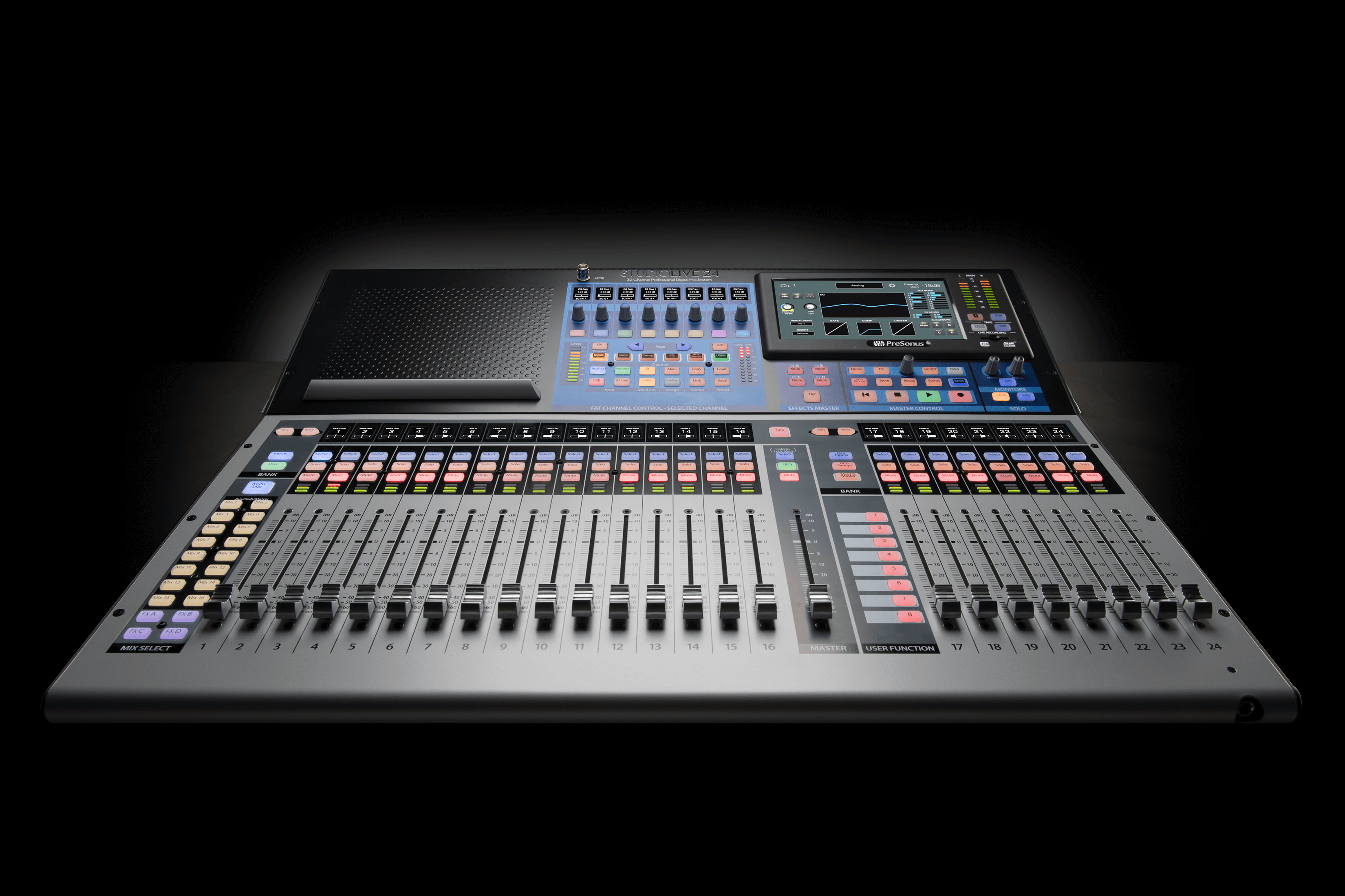 presonus introduces studiolive 24 digital console recorder press releases presonus. Black Bedroom Furniture Sets. Home Design Ideas