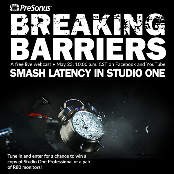 PreSonus: speed–smashing latency into the ground & leaving
