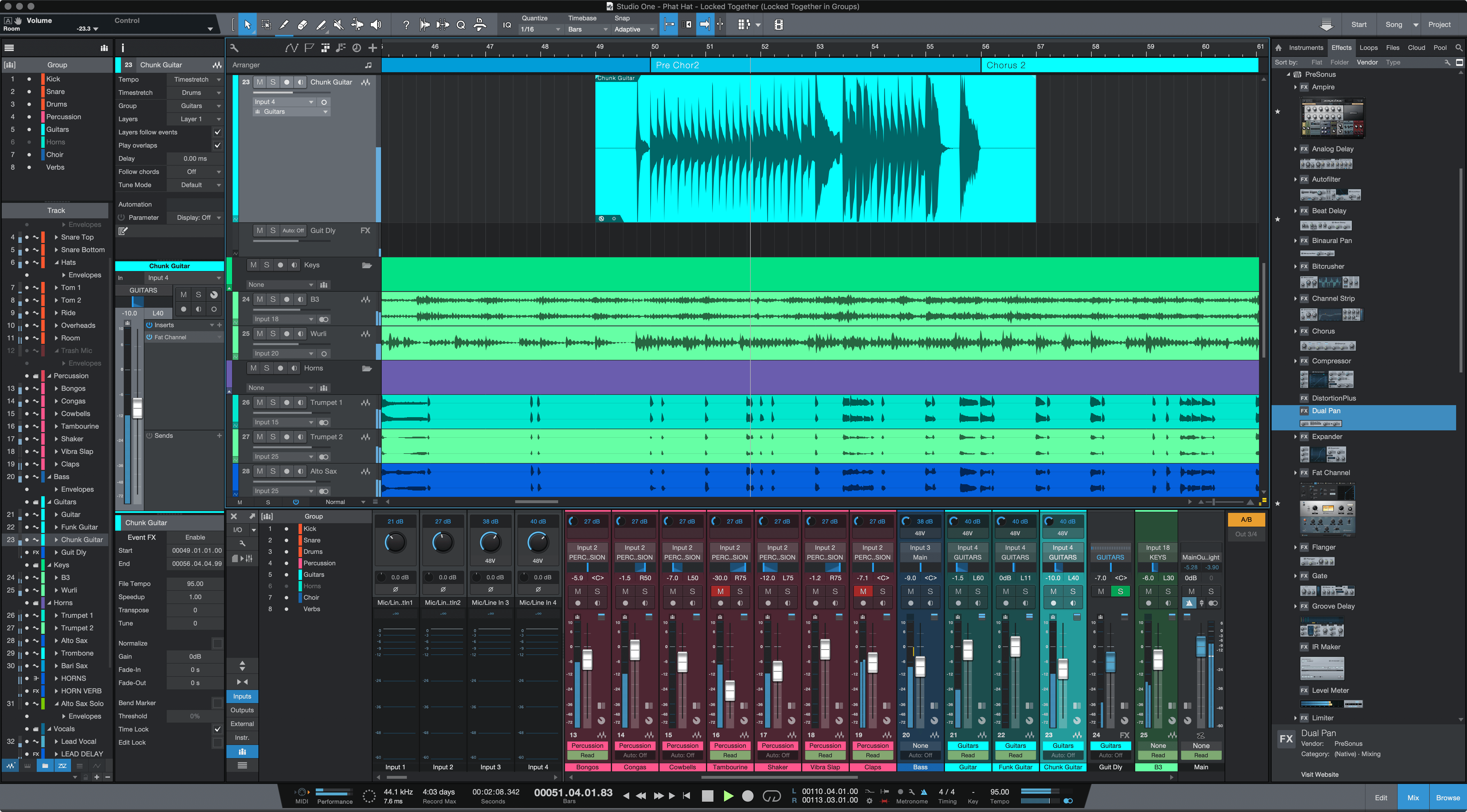 Changes In Studio One 4.5.2